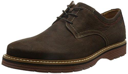 Clarks Habillé Homme Newkirk Plain Nubuck Chaussures De Weite Passform Taille 42½