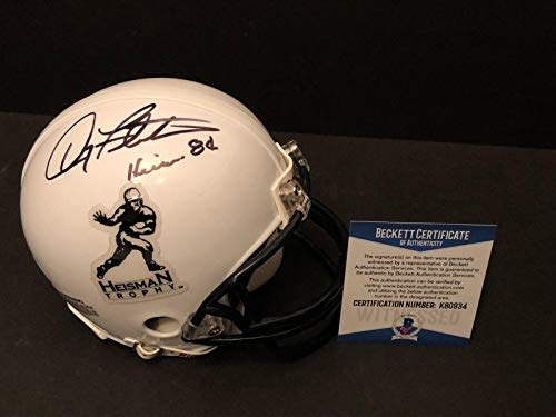 Doug Flutie Signed Heisman Trophy Football Mini-Helmet