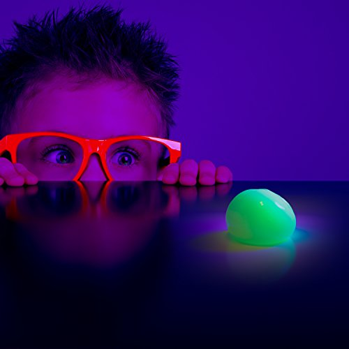Kobra Exercise Putty Glow in Dark Clear Slime Therapy for Stress Adults and Kids - Hours of Fun! by KOBRA Products (Image #4)