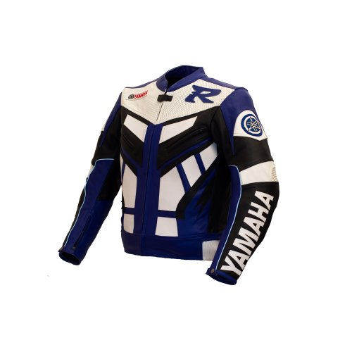 Yamaha Blue Racing Leather Jacket