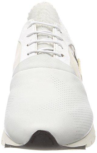 98 white 0001 Femme Denalux A Blanc s Bottines Sqwn15