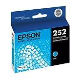 Epson T252220 (252) DURABrite Ultra Ink, Cyan