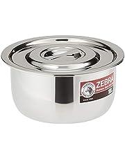 Zebra Stainless Steel Indian Pan, 18cm