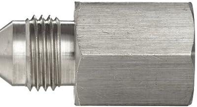 Brennan 2404-SS Series, Stainless Steel JIC Tube Fitting, 02MJ-MP Adapter, Tube OD x NPTF Male