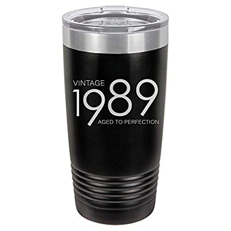 1989 30th Birthday Gifts For Men Women Insulated Stainless Steel Tumbler