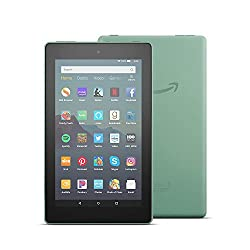 Tiny price. Big fun.Engineered and tested by Amazon, Fire 7 is our best-selling tablet-now 2X the storage, faster quad-core processor, hands-free with Alexa, and 2X as durable as the latest iPad mini. Complete tasks, enjoy movies on the go, browse re...