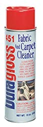 Duragloss 451 Fabric & Carpet Cleaner, Aerosol Foam, 1 Pack