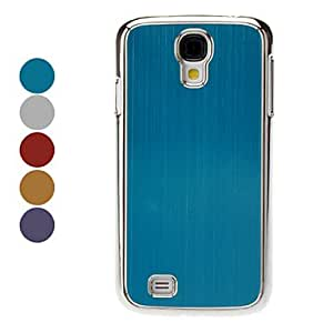 Metal Design Hard Case for Samsung Galaxy S4 I9500 (Assorted Colors),Silver