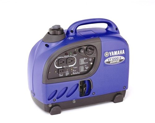 Yamaha EF1000iS, 900 Running Watts/1000 Starting Watts, Gas Powered Portable Inverter, CARB Compliant