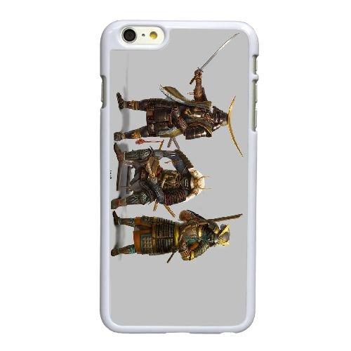 X6N61 shogun guerre totale J6H7CO coque iPhone 6 4.7 pouces cas de couverture de téléphone portable coque blanche XB6KRV0PT