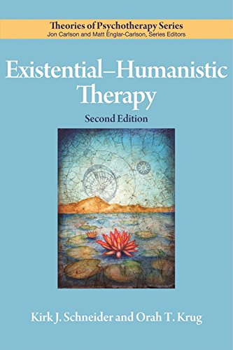 ExistentialHumanistic Therapy (Theories of Psychotherapy Series)