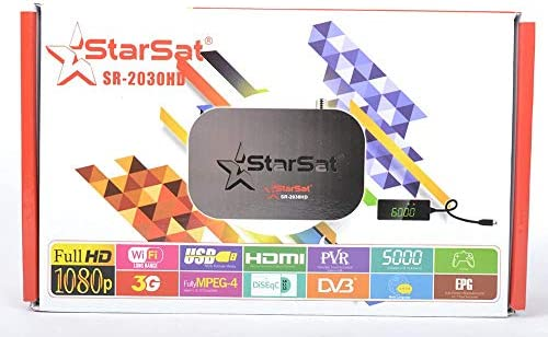 StarSat SR-2030HD Full HD Satellite Receiver: Amazon com