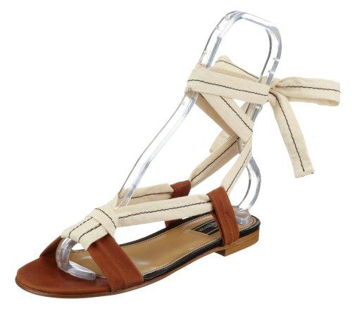 By Malene Birger MURETTE Shoe Q34458001, Damen Sandalen/Fashion-Sandalen Braun (Caramel17A)