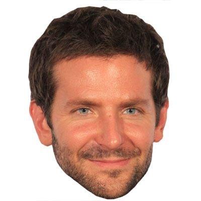 Bradley Cooper Celebrity Mask, Cardboard Face and Fancy Dress Mask (Fancy Face Masks)