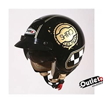 CASCO SHIRO SH-203 CAFE RACER