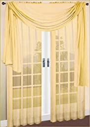 Window Scarf Sheer Voile 60\