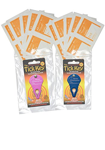 Amazing Tick Tool! 2 Individually Wrapped-Tick Key Remover Kits with Bonus! Fast, Easy & Effortless - Never Touch a Tick. 99.9% Effective on Removal of All Sizes & Types of Embedded Ticks! Each Kit Contains a Reclosable Bag, 1 Tick Key, Detailed Instructi by Burket Enterprises (Image #9)