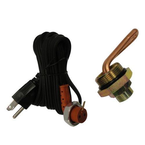 Complete Tractor Frost Plug Heater For John Deere 1000 Watt 1-5/8
