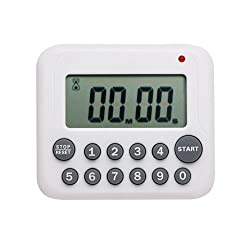 Hito™ Timer, Directly Input Numbers, so Easy (White, 1)