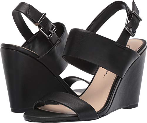 Jessica Simpson Women's WYRA Wedge Sandal, Black, 7.5 M US ()