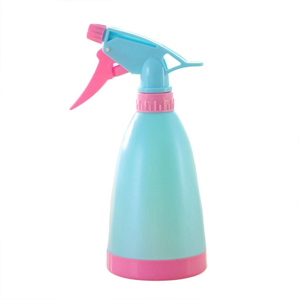 Makaor Empty Spray Bottle,Water Spray Bottle,Plastic Spray Bottles Watering Flowers Water Spray for Salon Plants (Blue, 21cm x 8 cm)