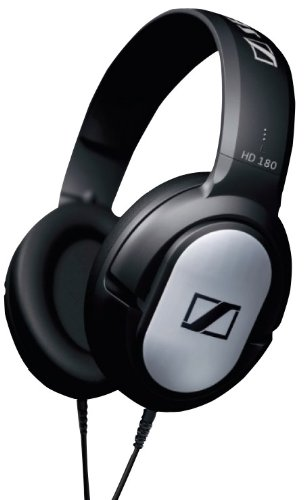 Sennheiser HD 180 Over-Ear Headphone  (Black)