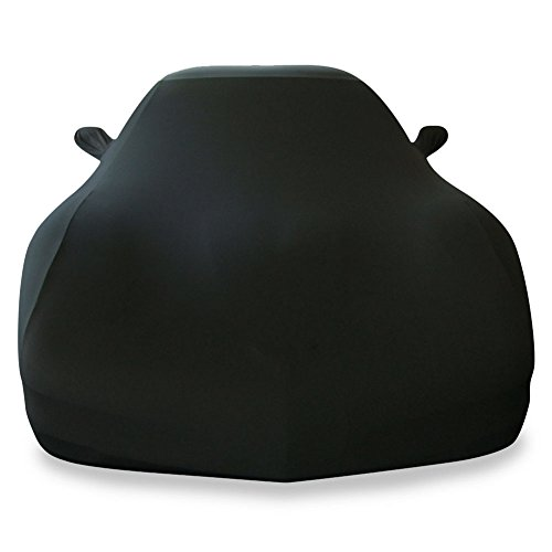 1997-2004 C5 Corvette Ultraguard Stretch Satin Indoor Car Cover (Black)