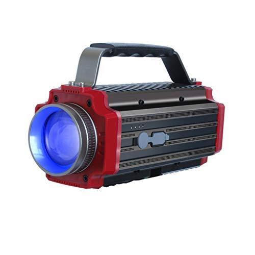 YROD light Lampe zum Fischen, LED Draussen Aufladung Hohe Energie Suchscheinwerfer Super Hell Nacht Taschenlampe Laterne Blau Weiß Gelb Lila Vier Lichtquellen (größe    1)