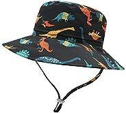 Baby Boy Sun Hat UPF 50+ Toddler Girl Summer Bucket Hats Sun Protection Kid Outdoor Beach Play Cap for 6M-6T
