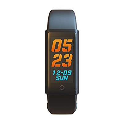RQ-CY Smart Bracelet Sports Fitness Tracker Waterproof OLED Touch Screen Smart Watch Band with Sleep Monitor Activity Trackers Pedometer Wristband Estimated Price £39.99 -