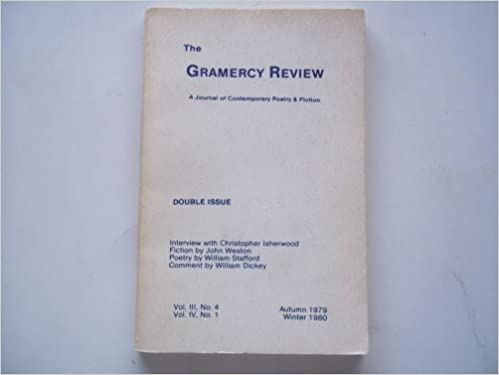 The Gramercy Review (Autumn-Winter 1979-1980 Vol  III No  4