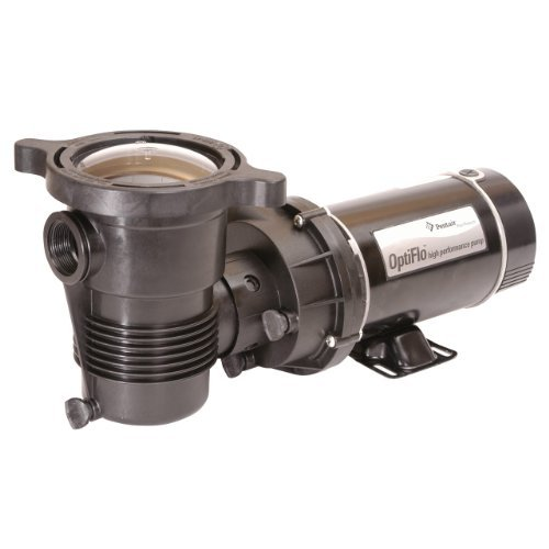 Pentair 347985 OptiFlo Vertical Discharge Aboveground Pool Pump with Cord and Standard Plug, 1 HP