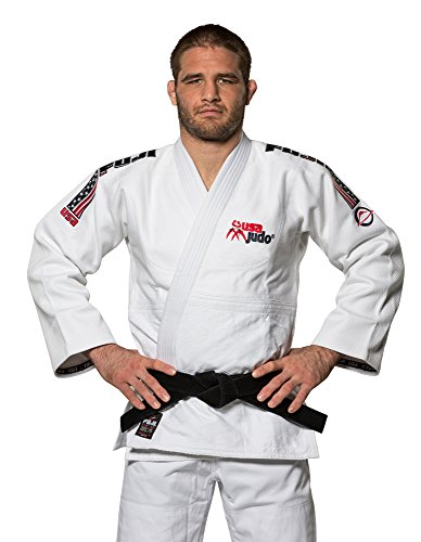 Fuji Sports Double Weave USA Judo Gi, Size 5 Double Weave Judo Uniform