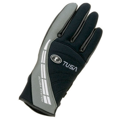 TUSA 2mm Warm Water Dive Glove (Black, X-Small)