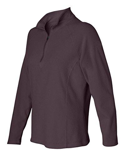 - DRI Duck Women's 9397 Fusion Quarter-Zip Nano-Fleece Pullover Jacket Sweatshirt (Small, Plum)