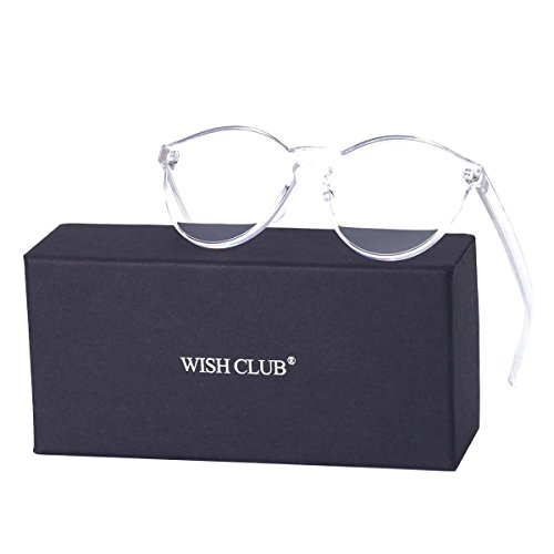 WISH CLUB Cat Eye Rimless Sunglasses for Women Oversized Lightweight Transparent Glasses Candy Color Eyewear - Sunglasses For Cute Juniors