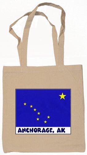 Anchorage Alaska Souvenir Tote Bag - Anchorage Shopping