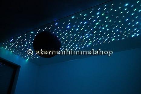 RGB LED 16W Cielo Estrellas Fibra Óptica Luz Efecto de ...