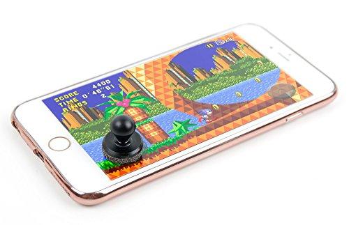 Mini Joystick Game Controller Suitable for The Apple iPhone X, 8, 7, 7 Plus, 6S, 6S Plus, 6 Plus, 6 by DURAGADGET