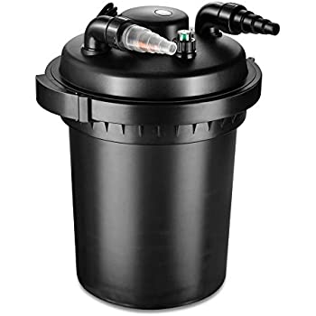 Tetrapond bio active pressure filter for for 100 gallon pond pump filter