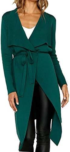 Women's Winter Warm Coat Overcoat Long Sleeve Leather Open Front Short Cardigan Suit Jacket Solid Long Coat