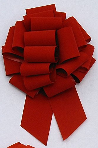 Berwick Veltex Brick Red Holiday Velvet #40 2 1/2 Inch Ribbon 100 Yard Bulk Roll
