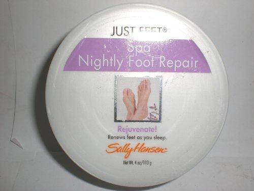 (Sally Hansen Just Feet Spa Nightly Foot Repair Cream 4 Oz.)