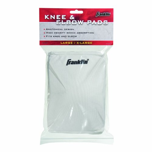 Franklin Elbow Pads - Franklin Sports Knee/Elbow Pads (Small/Medium)