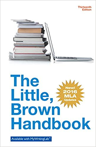 Little brown writing handbook