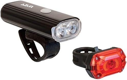 AZUR 400 Lumens USB Headlight Front Bike Light Rechargeable Cycling Light