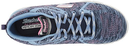 Fille Bleu Breezin Air nvpw Hautes Appeal Sneakers Skechers qw1XEYzx71