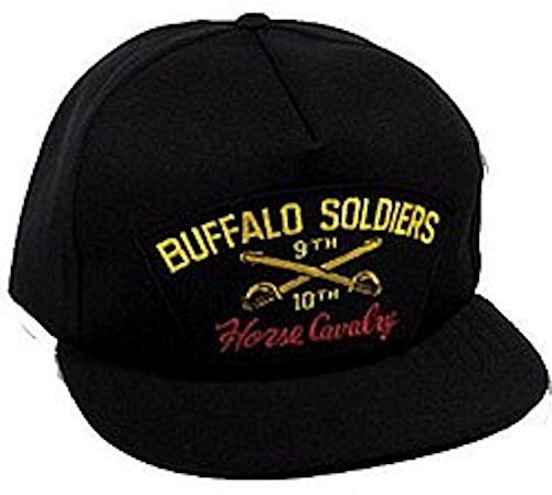 Buffalo Soldiers 9th and 10th Horse Cavalry - Soldiers Buffalo Cap