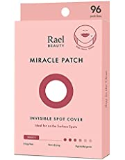 Rael Acne Pimple Healing Patch - Absorbing Cover, Invisible, Blemish Spot, Hydrocolloid, Skin Treatment, Facial Stickers, Two Sizes, Blends in with skin (96 Patches)