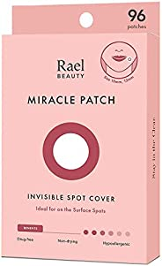 Rael Acne Pimple Healing Patch - Absorbing Cover, Invisible, Blemish Spot, Hydrocolloid, Skin Treatment, Facia